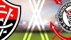 Vitória x Corinthians: transmissão da Copa do Brasil ao vivo na TV e internet