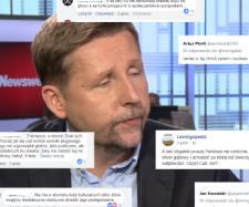 Marek Migalski kontra internauci (twitter.com).