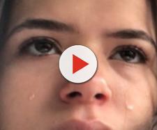 """Maisa Silva sofre """"acidente"""" em casa, bate a cabeça e reclama de dor. (foto reprodução)."""