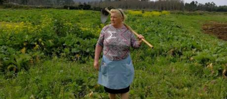 A journalist snapped an image of a woman in Galicia, Spain who bears an uncanny resemblance to Donald Trump. [ImageL LyndonjouHD/YouTube]