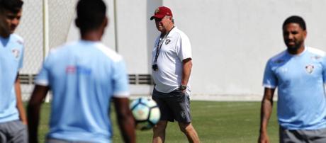 Fluminense faz treino tático na véspera do jogo contra o São Paulo