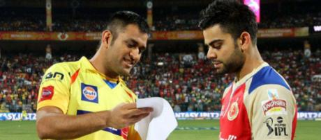 IPL 2015: Chennai Super Kings vs Royal Challengers Bangalore ... (Image via Hotstar.com)