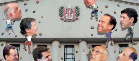 Pesquisa mostrou o ex-prefeito da capital na frente