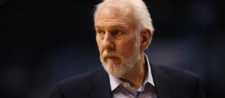 The death of his wife, Erin, will certainly contribute to Gregg Popovich's decision this summer. – [image credit: Nazrul Islam / Flickr]