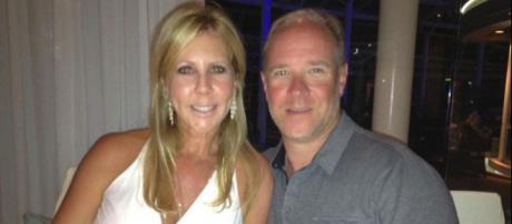 Vicki Gunvalson is seen with former boyfriend Brooks Ayers. [Photo via Facebook]