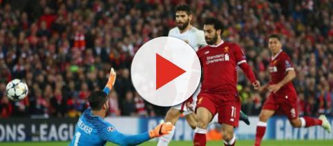 Mohamed Salah segna il gol del 2 a 0