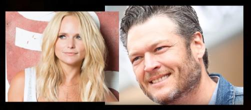 Blake Shelton throws shade on Miranda Lambert. (Image Credit: News Hollywood Youtube screenshot)