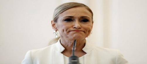 Cristina Cifuentes presenta su dimisión. Public Domain.