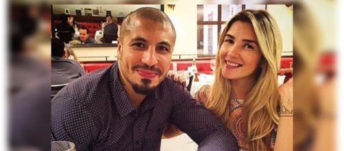 Fernando e Aline iniciaram o romance no ''BBB15''
