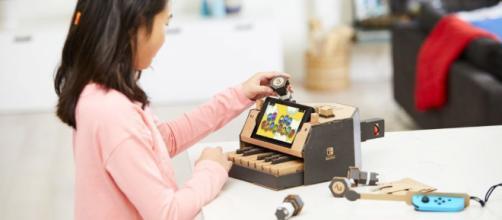 Nintendo Labo: crea magia con la caja de cartón del Switch