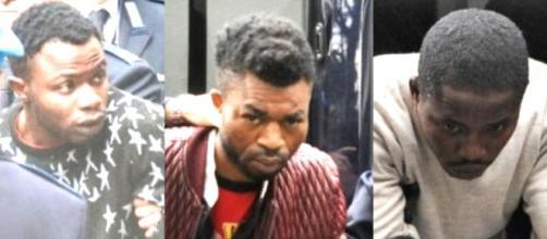 I tre nigeriani presunti assassini di Pamela Mastropietro