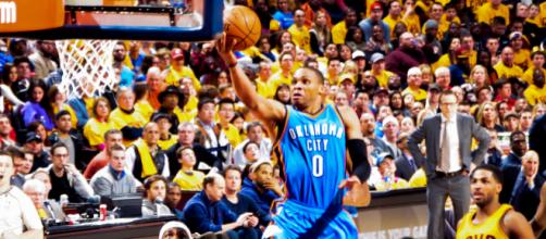 Russell Westbrook in action. - [Image Credit: Erik Drost / Flickr]