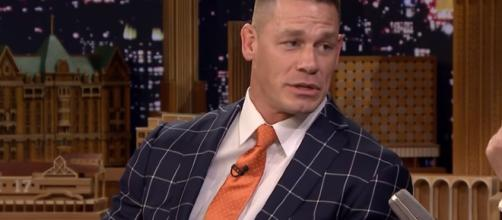 John Cena interview. - [The Tonight Show Starring Jimmy Fallon / YouTube screencap]
