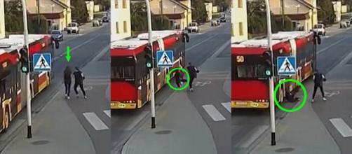 Jovem polonesa quase morreu em brincadeir feita pela amiga (Crédito: Guarda da Cidade de Czechowice-Dziedzice)
