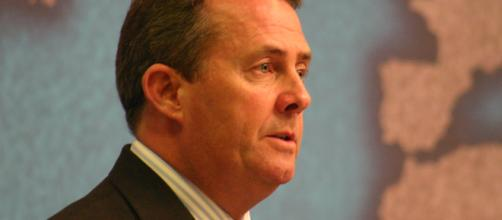 Liam Fox By Chatham House - Rt Hon Dr Liam Fox MP photo by 2.0 via Wikimedia