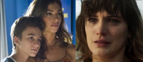 Livia e Tomaz afrontam Clara em 'O outro lado'