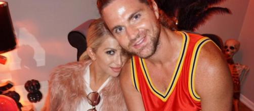 Stassi Schroeder and Patrick Meagher on Halloween in 2016. [Photo via Facebook]
