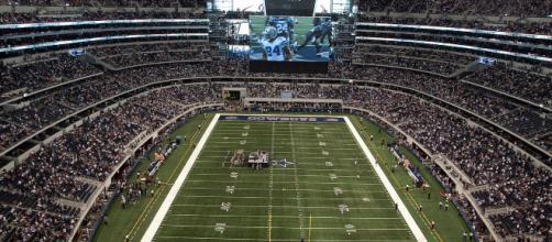 The NFL Draft is hosted at AT&T Stadium -(Image via Mahanga/Youtube)