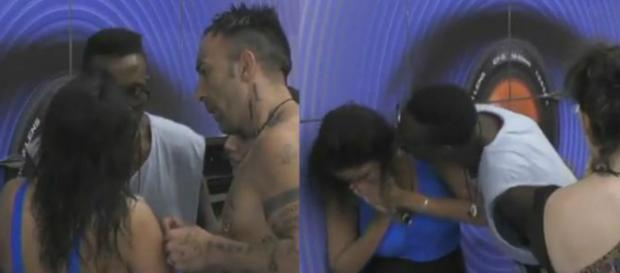 #Aida Nizar bullizzata da #Baye Dame. #BlastingNews
