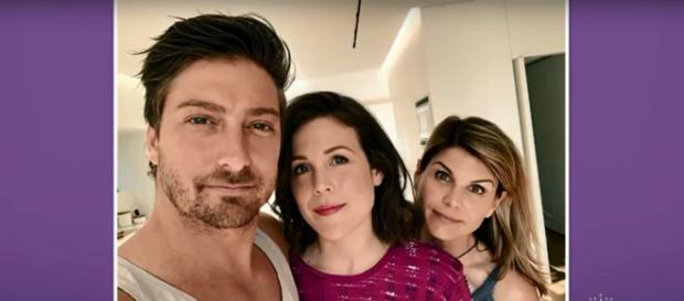 Daniel Lissing, Erin Krakow, and Lori Loughlin watched the 'When Calls the Heart' finale together. Screencap HallmarkChannel/YouTube