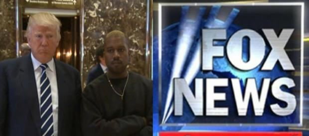 Donald and Kanye, Fox News, via Twitter