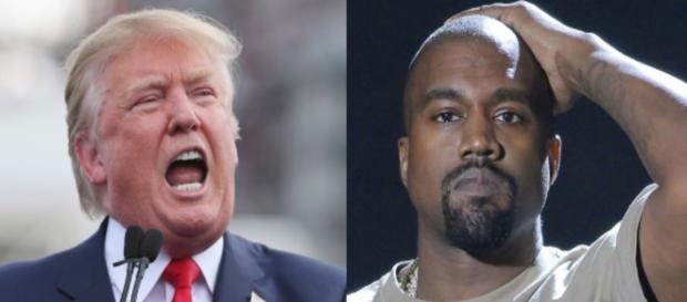 Donald Trump, Kanye West, via Twitter