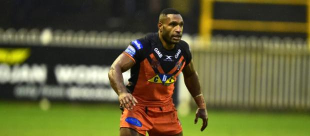 """Garry Lo has been """"stood down"""" for Castleford's game against Wakefield this Friday. Image Source - twitter.com"""