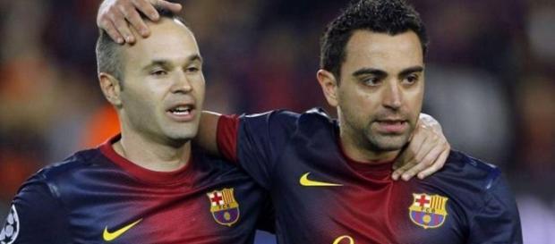 Iniesta y Xavi no pudieron conquistar el máximo galardón individual del planeta. Foto As.com.