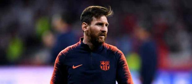 Leo Messi está incomodado com o novo rival
