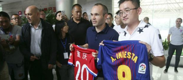 Liga China: Los caminos de Iniesta conducen al Chongqing Dangdai ... - marca.com