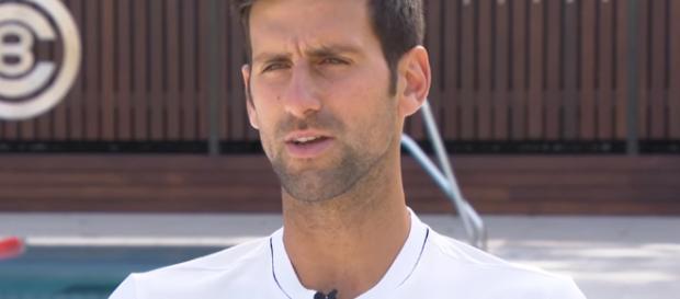 Novak Djokovic implodes again, now his career may be in danger. - [Image via ATPWorldTour/YouTube Screenshot]