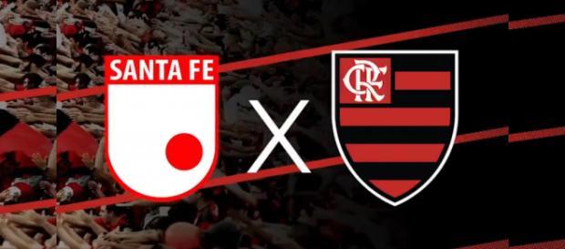 Santa Fe recebe o Flamengo pela Copa Libertadores