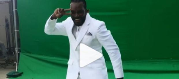 Sorry Sapna Choudhary, Chris Gayle was actually dancing to Sunny ... (Image via Chris Gayle/Instagram)