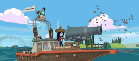 'Adventure Time: Pirate of the Enchiridion' release details. [Image source: YouTube - Outright Games Channel]