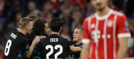 Ligue des champions : le Real Madrid remporte le match aller 2 à 1 ... - rds.ca