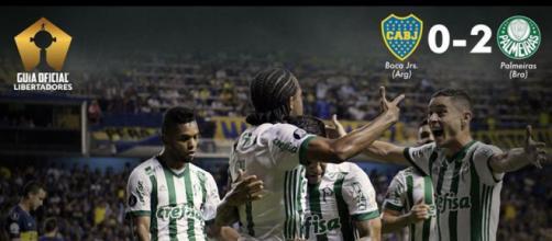 Boca Juniors 0x2 Palmeiras: Verdão venceu na Bombonera