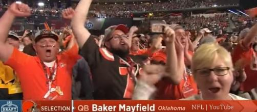 Cleveland Browns select Baker Mayfield | Round 1 Pick 1 | NFL Draft 2018 | YouTube
