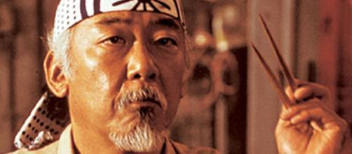 Continuando con el tributo del Sr. Miyagi