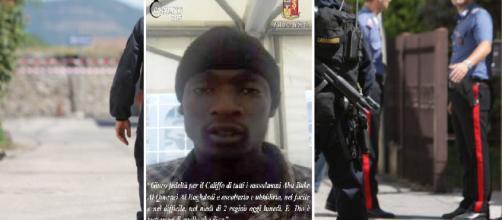 """Giuro fedeltà per il Califfo"""". La foto del terrorista di Licola ... - internapoli.it"""