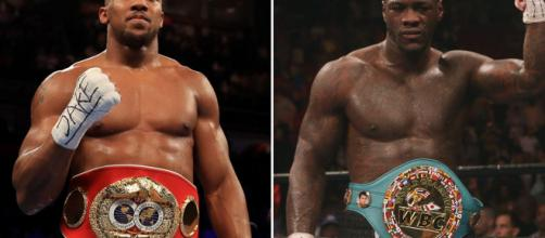 Joshua vs Wilder negociación surrealista