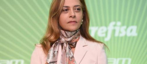 Leila Pereira é a dona da patrocinadora do clube