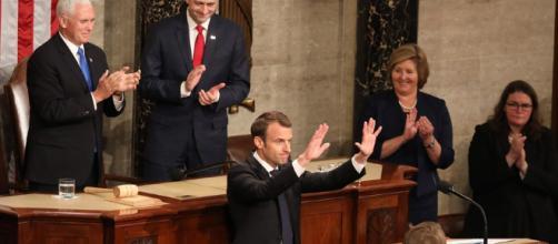 Macron atacó el nacionalismo en el Congreso de EE.UU. - LA NACION - com.ar