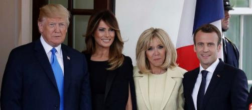 Macron's US state visit via abcnews.com