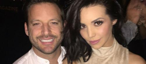 Rob Valletta and Scheana Marie pose with one another during happier times. [Photo via Instagram]