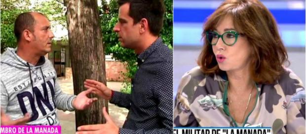 Ana Rosa Quintana y el reportero