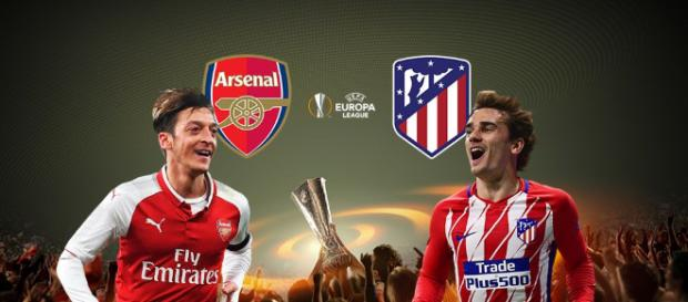 Arsenal x Atlético de Madrid ao vivo