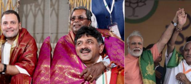 [Image credit: Congress/ BJP/Twitter]