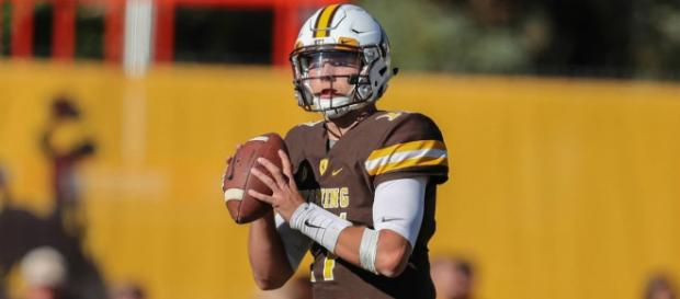 Josh Allen's draft stock could fall after racially insensitive tweets emerge. - [Image via Wikipedia Commons - RalphTheCorndog]