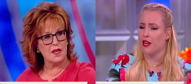 Joy Behar, Meghan McCain, via YouTube