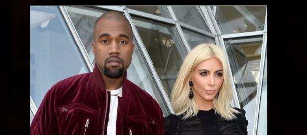 Kim and Kanye's home is weird. Photo: TMZ/YouTube screenshot